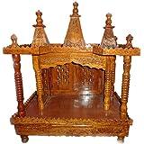 Hand-carved Mandir / Temple In Sheesham Wood