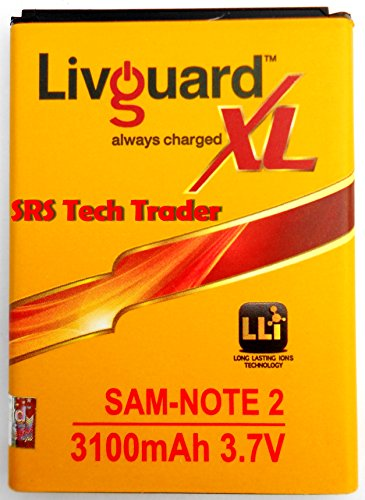 Livguard-3100mAh-Battery-(For-Samsung-Note-2)