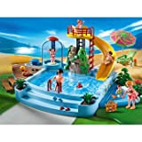 Dazzling Playmobil Pool and Water Slide (4858) - Cleva Edition H8' Bundle