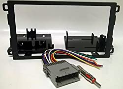 See Dash kit and wire harness for installing a new Double Din Radio into a Chevy Chevrolet Blazer (2002-2004 replacing oversized factory radio), Express Van (2001-02), S10 pickup (2002-04 when replacing Oversized factory radio), Tracker (2000-04), GMC Savana Details