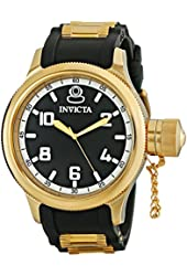 Invicta Men's 1436 18k Gold Ion-Plated Stainless Steel Russian Diver Watch