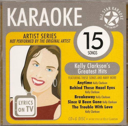 A moment like this kelly clarkson karaoke disc