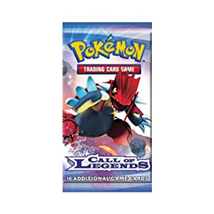 Pokemon Card Game Call of Legends Booster Pack
