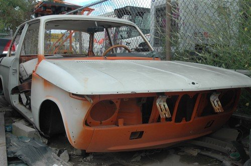 D BMW 2002 ti Complete 1974 clean OEM shell engine