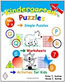 Kindergarten Puzzles - Level 2: Simple Puzzles, Worksheets, And Activities For Kids