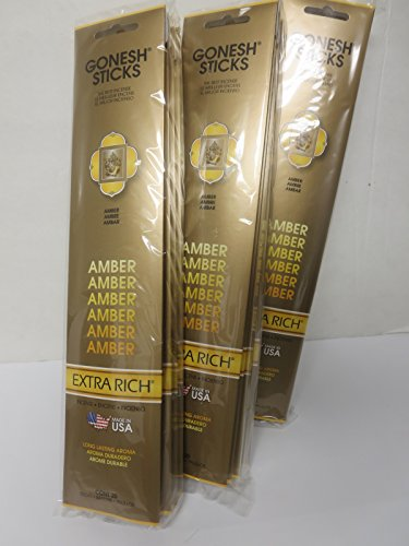 gonesh-incense-sticks-extra-rich-collection-amber-12-pack-20-sticks-pack