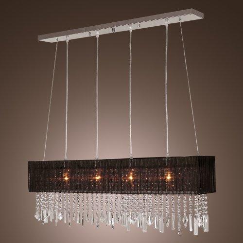 LightInTheBox Stylish Pendant Light with 4 lights (Fabric Shade)