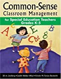 img - for By Jill A. Lindberg - Common-Sense Classroom Management for Special Education Teachers, Grades K-5 book / textbook / text book