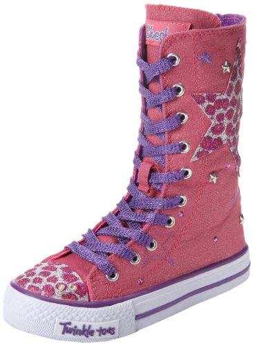 Skechers  ShufflesWild Spark,  Sneaker bambina, Rosa (Pink (PKPR)), 31