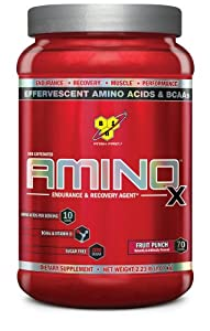 BSN AMINO X - Fruit Punch, 2.23 lb (70 Servings)