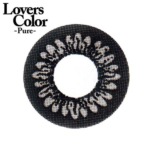小森純×度ありカラコン Lovers ColorPureー エッジブラック PWR0.50 DIA 14.5