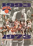 img - for 1992-93 Knicks Yearbook book / textbook / text book