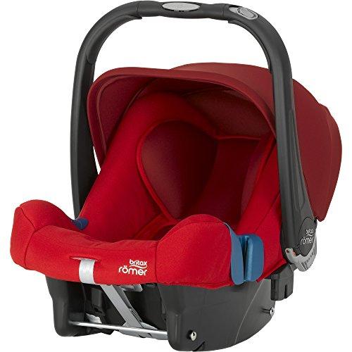 Britax-Romer 2000023252 Baby-Safe Plus Shr II Seggiolino Auto, Flame Red