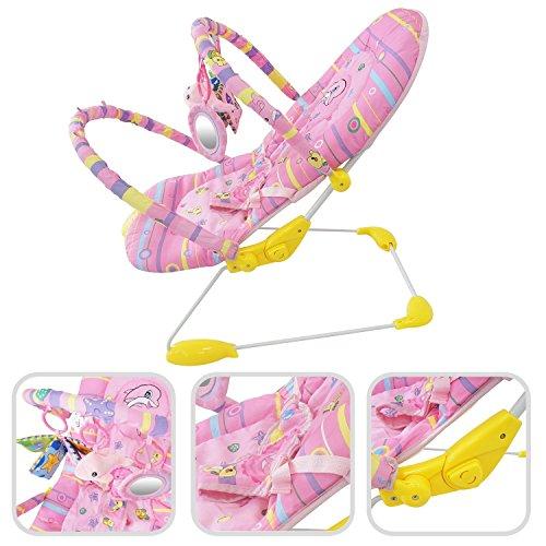 Babyfield Modelo 1 Hamaca Bebe rosa