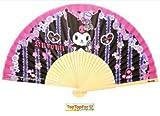Authentic Sanrio My Melody Kuromi Handheld Folding Paper Fan