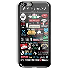 buy Friends Tv Series Collage For Iphone And Samsung Case (Iphone_4/4S_Black)