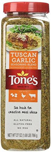 Tone's Tuscan Garlic Seasoning Blend 27 oz.