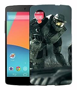 XUWAP 3D Printed Designer Hard Back Case For LG Google Nexus 5 Design-10025