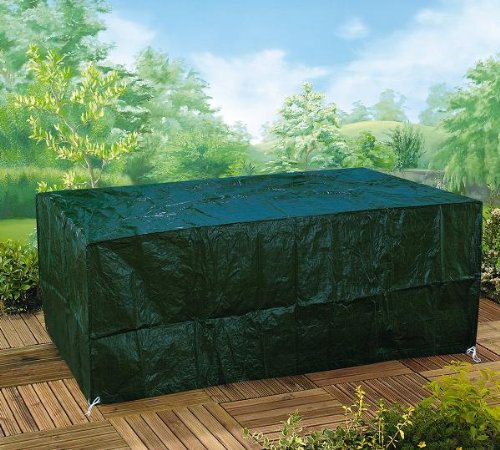 GARDMAN QUALITY GARDEN TABLE WINTER WEATHER COVER GREEN