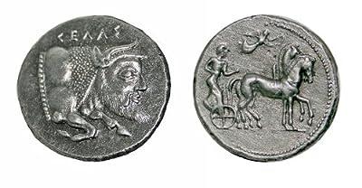 (DG B 18) Gela Tetradrachm