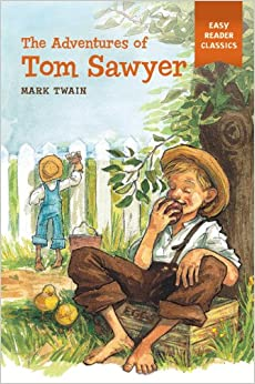 the adventures of tom sawyer easy reader. Black Bedroom Furniture Sets. Home Design Ideas