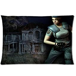 PbP Resident Evil Pillowcases Custom Pillow Case Cushion Cover 20 X 30 Inch Two Sides