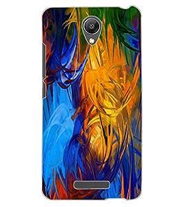 ColourCraft Abstract Image Design Back Case Cover for XIAOMI REDMI NOTE 2 PRIME