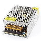 uxcell 電源スイッチングコンバータ 電力変換装置 DC5V 5A 25W LEDストリップライト用
