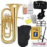 ユーフォニアム (ユーフォニウム) サクラ楽器オリジナル 初心者入門セット ランキングお取り寄せ