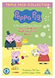 Peppa Pig Triple (Piggy in Middle, Birthday Party, Bubbles) 3 Disc Vol 4-6 [DVD]
