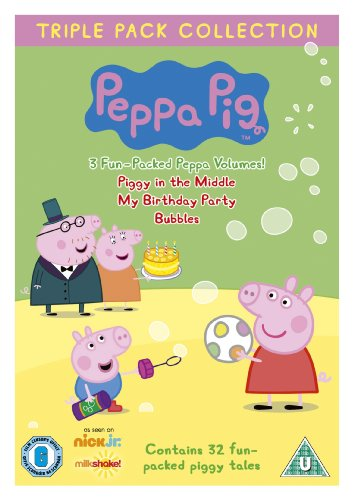 Peppa Pig Triple (Piggy in Middle, Birthday Party,