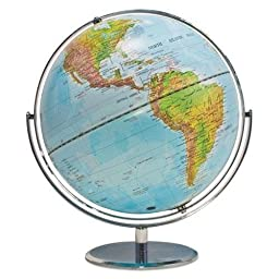 AVT30503 - Physical and Political 12-Inch Globe