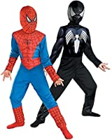 Reversible Spider-Man Red To Black Classic