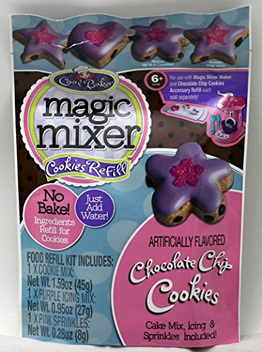 Cool Baker Magic Mixer Refill Kit - Chocolate Chip Cookies - 1