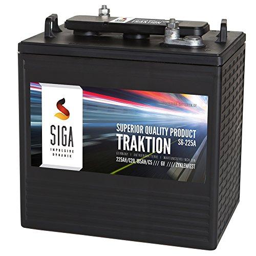 Antriebsbatterie-6V-225Ah-Traktion-Batterie-Stapler-Hubwagen-Hebebhne-Kehrmaschinen-Solar-185Ah