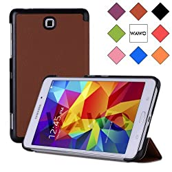 WAWO Samsung Galaxy Tab 4 7.0 Inch Tablet Creative Fold Case - Brown