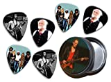 Fleetwood Mac (WK) 6 X Live Performance Guitar Picks in Tin