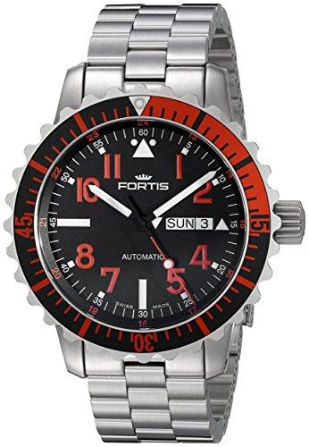 Fortis Hombre 670.23.43M Marinemaster self-wind Acero Inoxidable Reloj