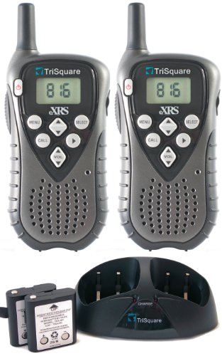 Trisquare Tsx100-2Vp Exrs Digital Two-Way Radio (Pair) - Charcoal Metallic/Black