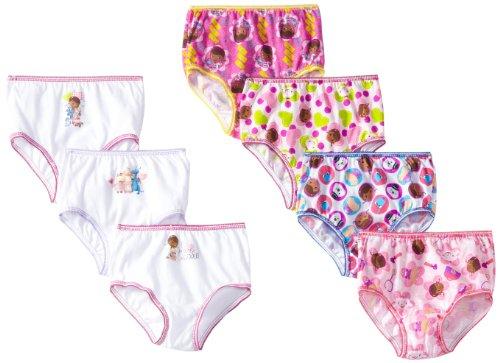 Handcraft Little Girls'  7 Pack Doc McStuffins Underwear, 2T/3T (Doc Mcstuffins Clothes compare prices)