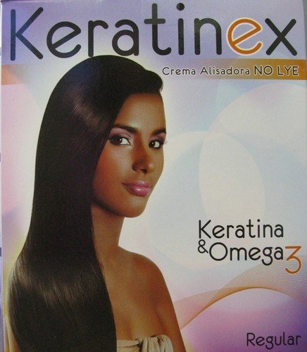 Dominican Hair Relaxer - Keratinex Relaxer Cream With Keratina & Omega3