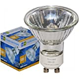 Long Life Lamp Company GU10 50 Watt Halogen TOP Brand Lamp Light Bulb (Pack of 10)