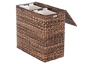 Divided hamper w liners laundry hampers baby - Laundry hamper divided ...