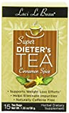 Laci Le Beau Super Dieter's Tea, Cinnamon Spice, 15-Count Box (Pack of 6)