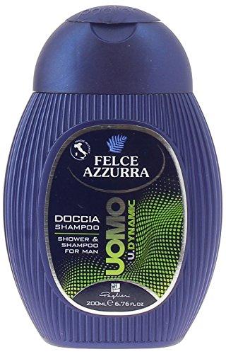 Felce Azzurra - Uomo Dynamic, Doccia Shampoo , 200 ml