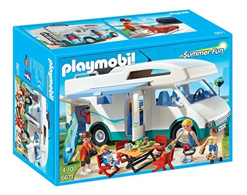 PLAYMOBIL Summer Camper Playset by PLAYMOBILÃ'Â (Camper Playmobil compare prices)