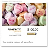 Amazon Gift Card - Email - Valentine's Day (Candy Hearts)