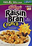 Kellogg's Raisin Bran Crunch, 43.3-Ounce Box (Pack of 2 Bags)