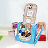 Geekdigg Portable Travel Shower Organizer Hanging Toiletry Wash Bag Bathroom Tote Travel Cosmetic Bag Waterproof...