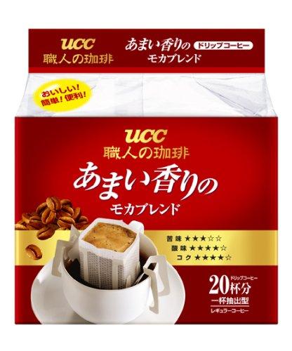 UCC 職人の珈琲ドリップ あまい香りのモカブレンド 20P